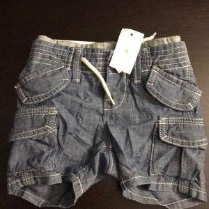 Baby Gap Blue Denim Shorts